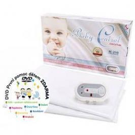 Baby Control BC-210, dvě senzorové podložky bílá