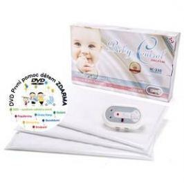Baby Control BC-230, tři senzorové podložky bílá