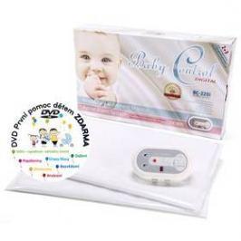 Baby Control pro dvojčata Digital BC-220i bílá
