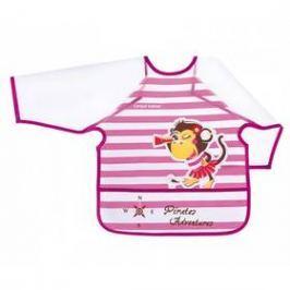Canpol babies Piráti plastový s rukávy +24m růžový