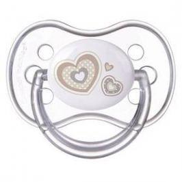 Canpol babies NEWBORN BABY silikonové třešinka 6-18m béžové