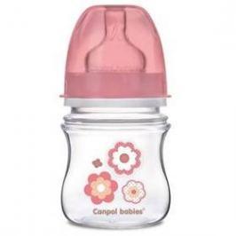 Canpol babies EasyStart Newborn baby 120ml růžová