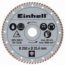 Kotouč diamantový Einhell, 250x25,4 mm k řezačkám RT-SC 570 L a STR 250 Příslušenství pro brusky
