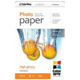 ColorWay high glossy 180g/m2, 10x15/ 20ks (PG1800204R)