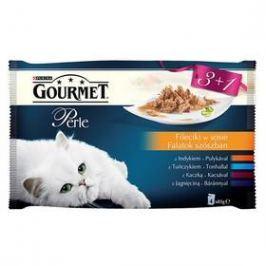Gourmet Perle mini filetky ve šťávě Multipack (3+1 zdarma 85g)