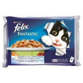 Felix Fantastic masový výběr se zeleninou (4x100g)