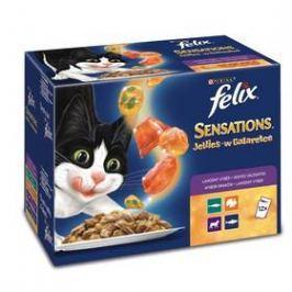 Felix Sensations výběr v ochuceném želé 12x100g