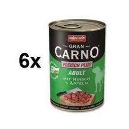 Animonda Adult Gran Carno jelení maso + jablka 6 x 400g