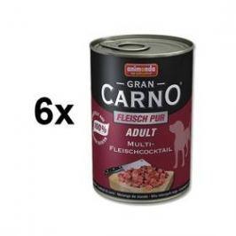 Animonda Adult Gran Carno masová směs 6 x 400g