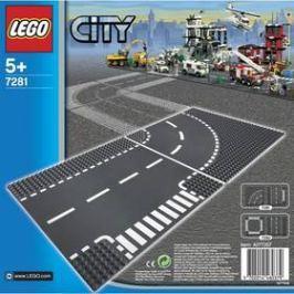 LEGO® CITY® 7281 Křižovatka ve tvaru T a zatáčky CITY®