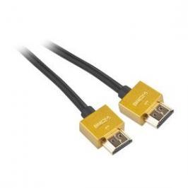 GoGEN HDMI 1.4, 5m, pozlacený, High speed, s ethernetem (GOGHDMI500MM03) černý
