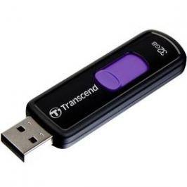 Transcend JetFlash 500 32GB (TS32GJF500) černý/fialový USB Flash disky