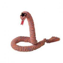 Nobby Snake Medium provaz na hraní 98cm oranžová