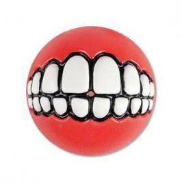 Rogz Grinz míček 7,8cm červená
