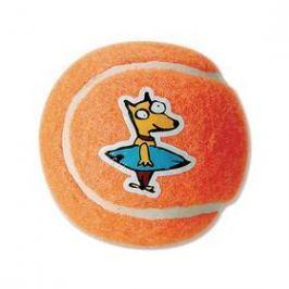 Rogz Molecules tenisák 8cm oranžová