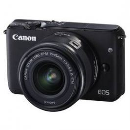 Canon EOS M10 + 15-45mm STM černý