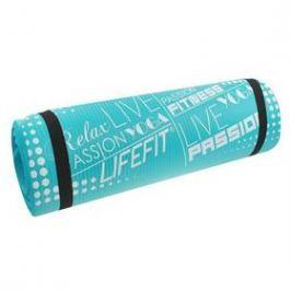 LIFEFIT Yoga Mat Exkluziv 100x60x1cm tyrkysová