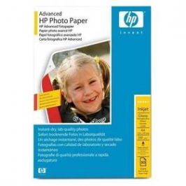 HP Advanced Photo Paper A4, 250g, 50 listů (Q8698A) bílý Papíry