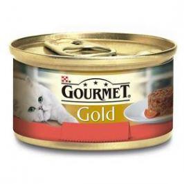 Gourmet Gold Savoury Cake s hovězím a rajčaty 85g