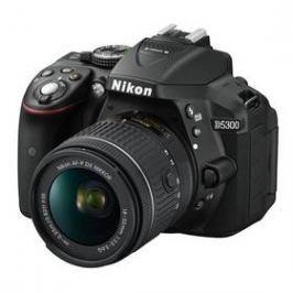 Nikon D5300 + AF-P 18-55 VR černý