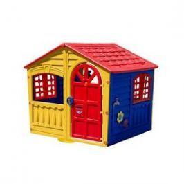 Marian Plast Happy House zábavný červený/modrý/zelený