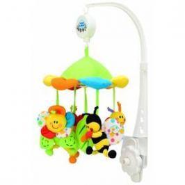 Canpol babies plyšový s baldachýnem luční zvířátka