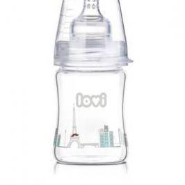 LOVI Diamond Glass 150ml Retro boy čirá/modrá