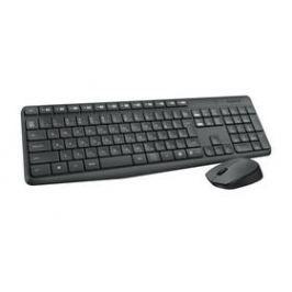 Logitech Wireless Combo MK235, CZ (920-007933) černá