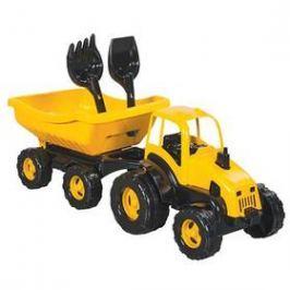 Traktor s vozíkem Pilsan