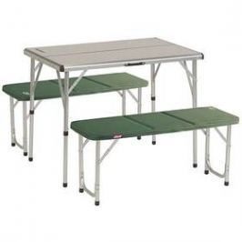 Coleman PACK-AWAY™ TABLE FOR 4 zelený/hliník Sety