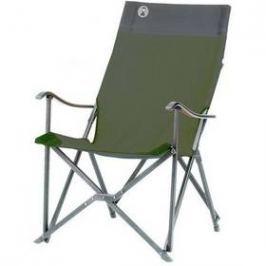 Coleman SLING CHAIR -  hliníkový rám černá/zelená Židle, křesla, lehátka