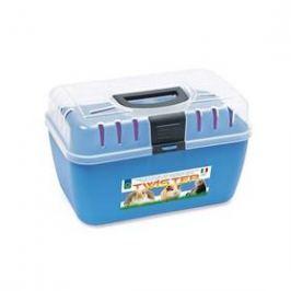 Argi plastová s horním otevíráním - 29 x 19 x 18 cm modrá
