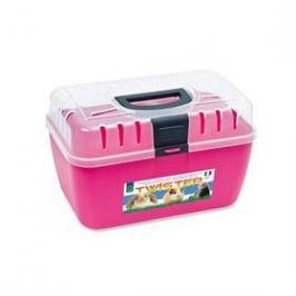 Argi plastová s horním otevíráním - 29 x 19 x 18 cm růžová