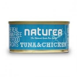 Naturea GF Cat - Tuna, Chicken 80g
