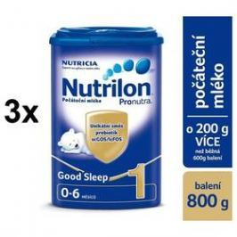 Nutrilon 1 Pronutra Good Sleep 800g x 3ks