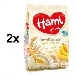 Hami rýžová s banány 4M, 180g x 2ks