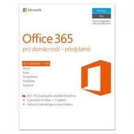Microsoft Office 365 pro domácnosti CZ (6GQ-00721)