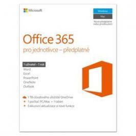 Microsoft Office 365 pro jednotlivce CZ (QQ2-00602)
