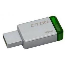 Kingston DataTraveler 50 16GB (DT50/16GB) zelený/kovový