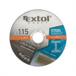 EXTOL CRAFT na kov, 5ks, 125x1,0x22,2mm