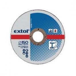 EXTOL CRAFT na kov, 5ks, 125x6,0x22,2mm