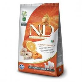 N&D Grain Free Pumpkin DOG Adult M/L Codfish & Orange 12kg