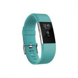Fitbit Charge 2 small - Teal Silver (FB407STES-EU)