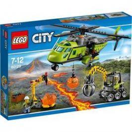 LEGO® CITY® Sopeční průzkumníci 60123 Sopečná zásobovací helikoptéra