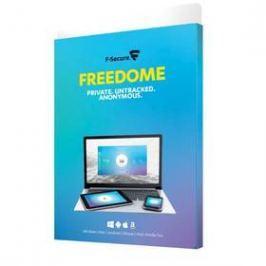 F-Secure FREEDOM, 3 zařízení / 1 rok (FCFDBR1N003G2)