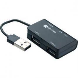 Connect IT USB 2.0 / 3x USB 2.0 + microSD + SD (CI-107) černý