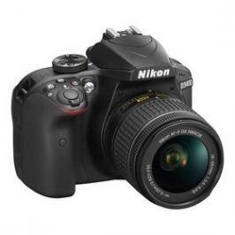 Nikon D3400 + AF-P 18-55 NON VR + 4x čištění čipu zdarma (VBA490K002) černý