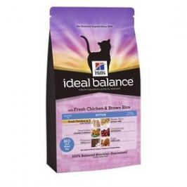 Hill's Ideal Balance Feline Kitten with Fresh Chicken & Brown Rice 2 kg