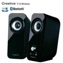 Creative Labs Inspire T12 bluetooth 2.0 (51MF1650AA000) černá