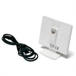 Nabíjecí stojan (konzole) Honeywell ATF800 pro řídící jednotku EvoTouch WiFi (stojan) (ATF800) bílá